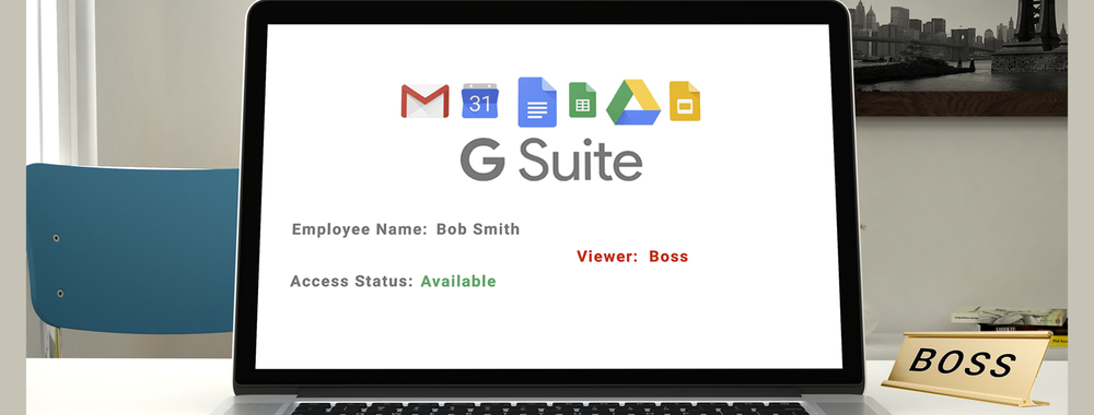 Your Boss Can Read Your Gsuite Drafts and More
