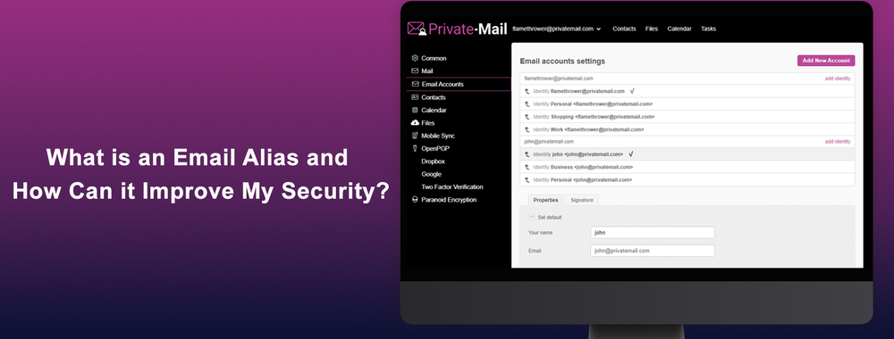 What is An Email Alias and How Can it Improve My Security?