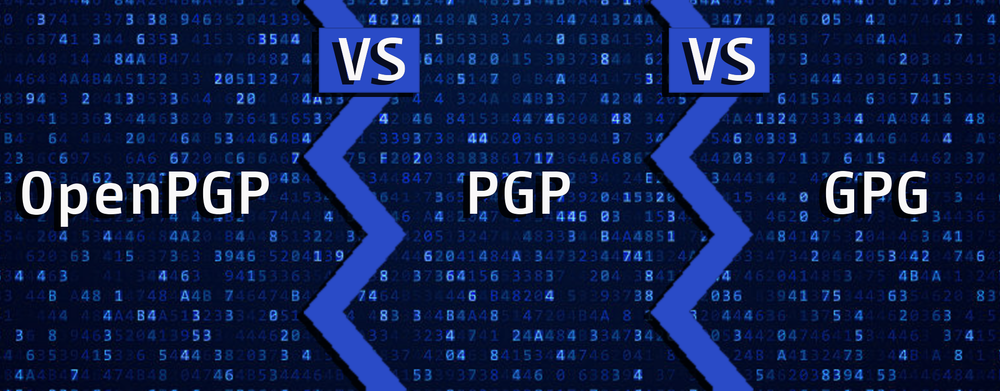 OpenPGP, PGP, and GPG – What's the Difference?